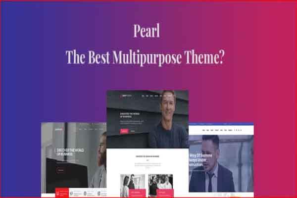 Pearl Wordpress Theme Download